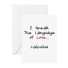 Calculus Love Language Greeting Cards (Pk of 10)