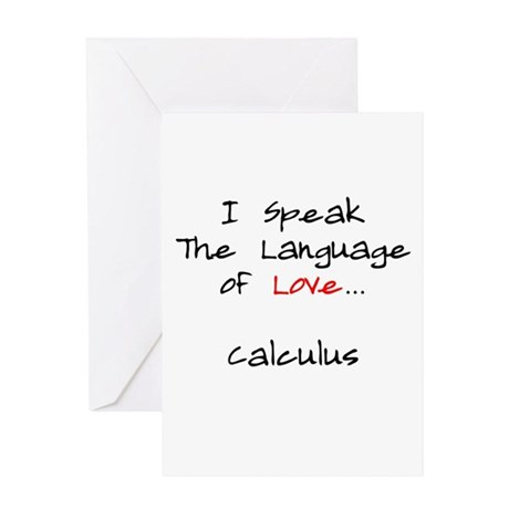 Calculus Love Language Greeting Card