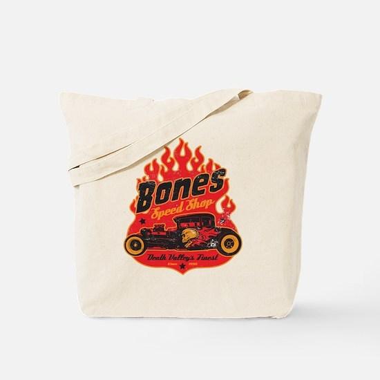 Bones Speed Shop Tote Bag