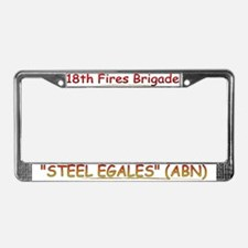 18th Fires BDE License Plate Frame