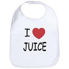 I heart juice Bib
