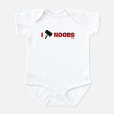 I Hammer Noobs Infant Bodysuit