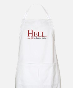 Hell was full 2 Apron