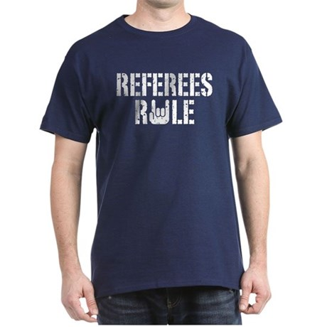 Referees Rule Dark T-Shirt