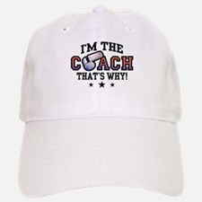 Coach Baseball Baseball Cap
