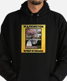 Washington D.C. Hoodie (dark)