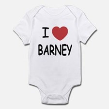 I heart Barney Infant Bodysuit