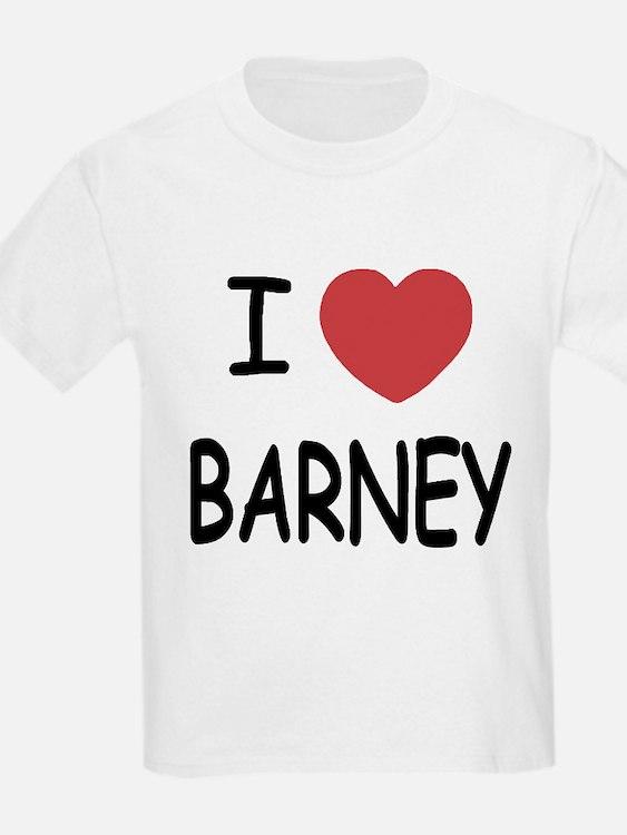 I heart Barney T-Shirt