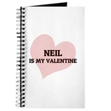 Neil Is My Valentine Journal