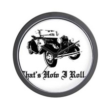 Funny Model a ford Wall Clock
