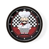 Chef Wall Clocks