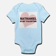 Nathaniel Is My Valentine Infant Creeper