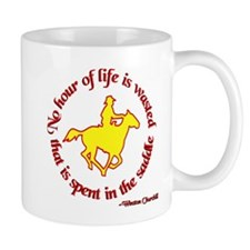 Horseback Riding Winston Churchill Mug