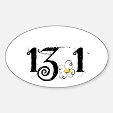 13.1 Daisey Design Sticker (Oval)
