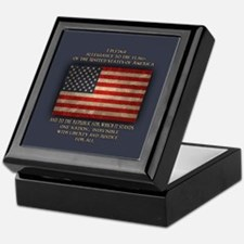 The Pledge Keepsake Box