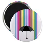 Colored Rain Magnet