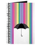 Colored Rain Journal