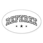 Referee Sticker (Oval)