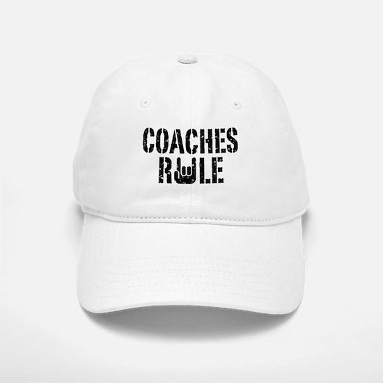 Coaches Rule Baseball Baseball Cap
