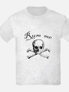 Rum me pirate skull T-Shirt