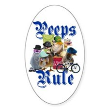 PEEPS RULE Decal