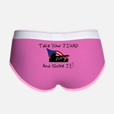 No Jihad Zone Women's Boy Brief