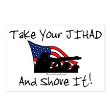 No Jihad Zone Postcards (Package of 8)