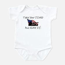 No Jihad Zone Infant Bodysuit