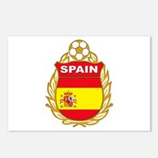 Spainish Soccer Postcards (Package of 8)