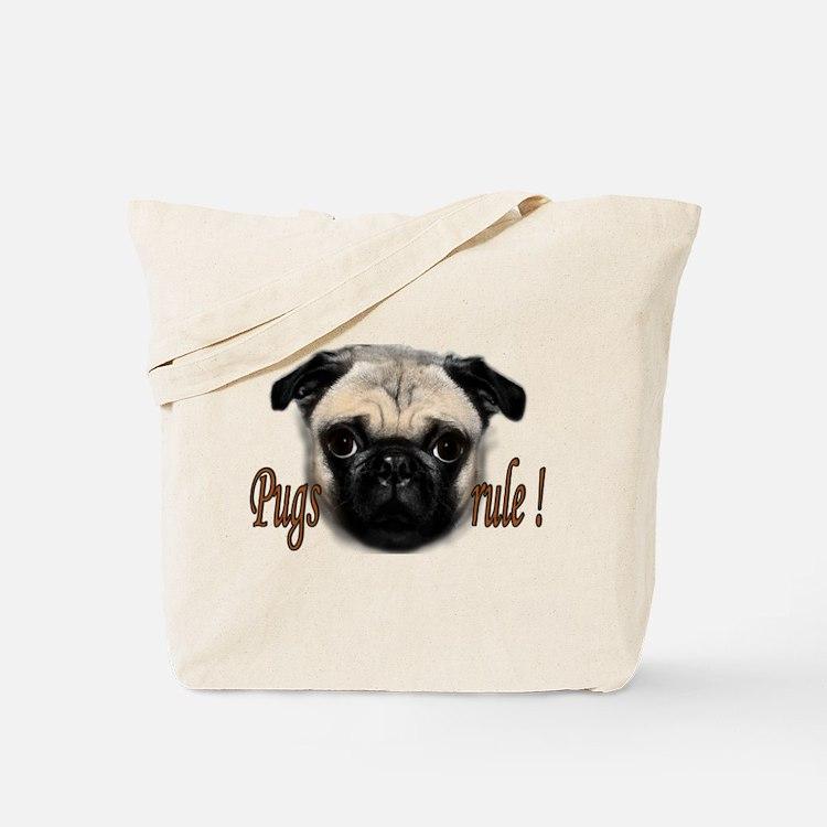 PUG Tote Bag