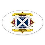 30th Arkansas Infantry Sticker (Oval)