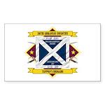30th Arkansas Infantry Sticker (Rectangle)