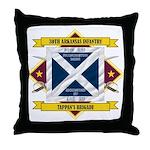 30th Arkansas Infantry Throw Pillow