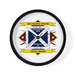 30th Arkansas Infantry Wall Clock