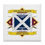30th Arkansas Infantry Tile Coaster
