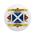 30th Arkansas Infantry Ornament (Round)