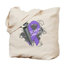 Screw Hodgkins Lymphoma Tote Bag