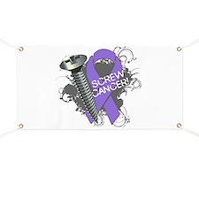 Screw Hodgkins Lymphoma Banner