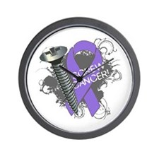 Screw Hodgkins Lymphoma Wall Clock