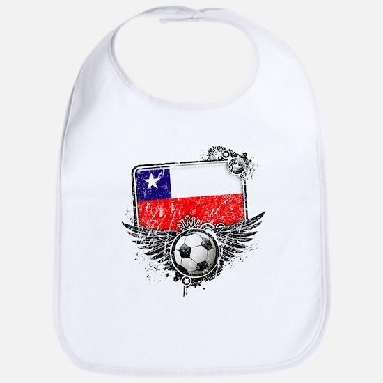 Soccer Fan Chile Bib