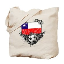 Soccer Fan Chile Tote Bag