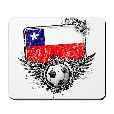 Soccer Fan Chile Mousepad