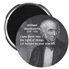Nature Wordsworth Poetry Magnet