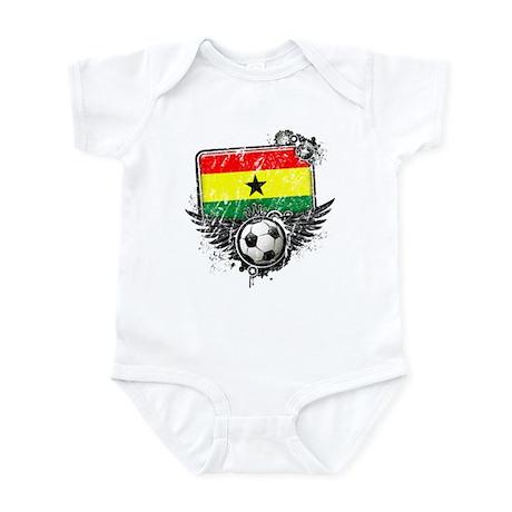 Soccer Fan Ghana Infant Bodysuit