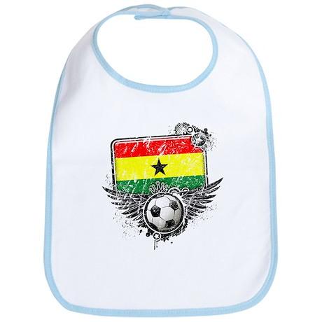 Soccer Fan Ghana Bib