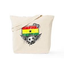 Soccer Fan Ghana Tote Bag