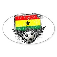 Soccer Fan Ghana Decal