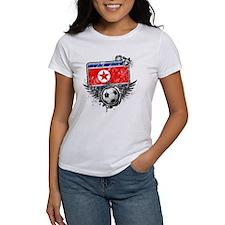 Soccer Fan North Korea Tee