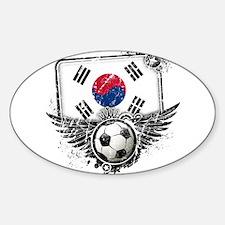 Soccer Fan South Korea Decal