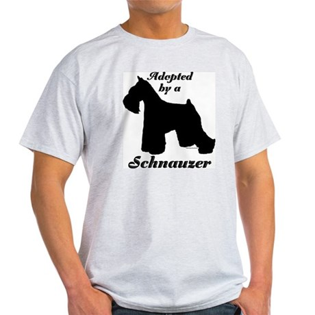 ADOPTED by Schnauzer Light T-Shirt